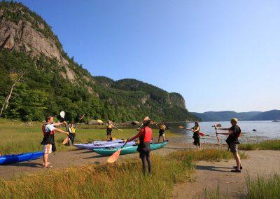 Kayak de mer Fjord du Saguenay