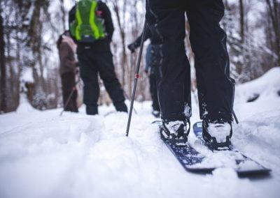 Ski-raquette Duchesnay