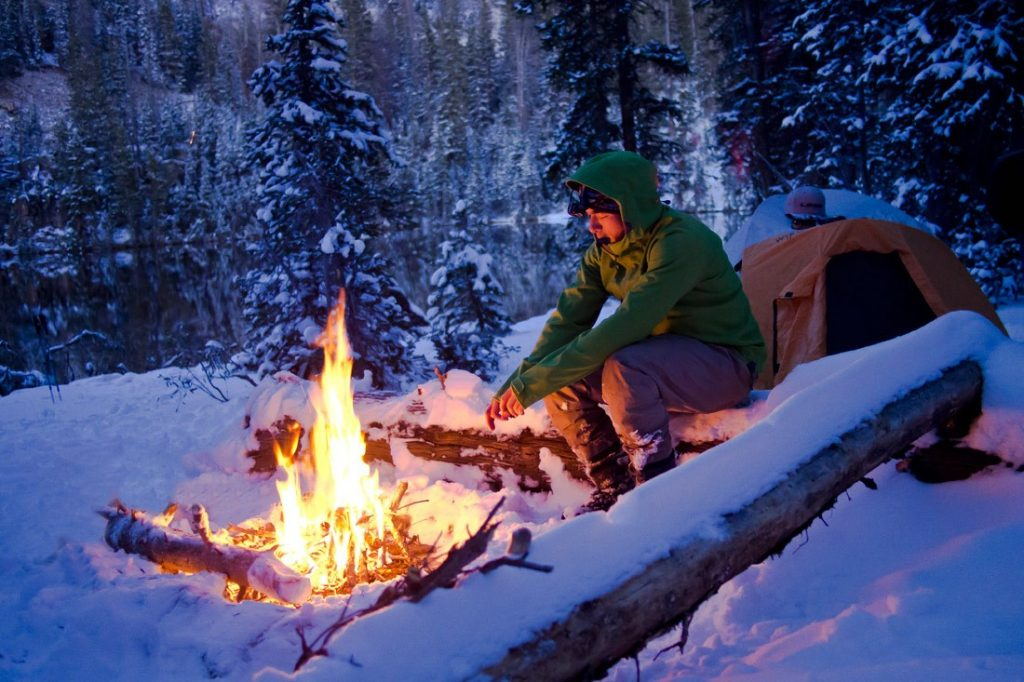 Initiation camping d'hiver