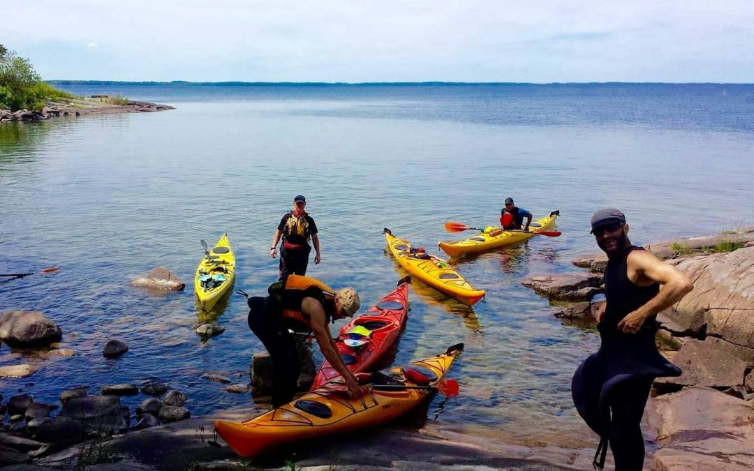 Mille-Iles - kayak de mer