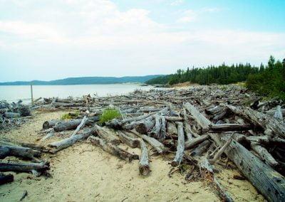 Pukaskwa Lac Supérieur - kayak de mer