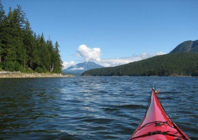 Terre et Mer en Colombie-Britannique - kayak de mer